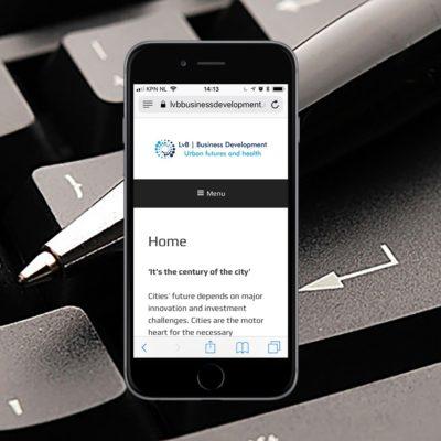 Portfolio - een website voor een adviesbureau