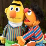 bert and ernie puppets this picture is part of a blog about google's algorithm named BERT